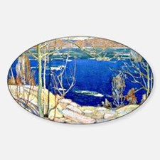 Tom Thomson - Spring Ice Decal