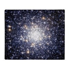 Messier 69 Star Cluster Throw Blanket