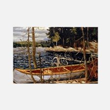 Tom Thomson - The Canoe Rectangle Magnet