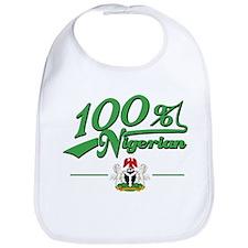 100% Nigerian Bib