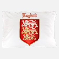 Englands Coat of Arms Pillow Case