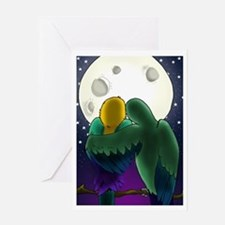 Bird1 Valentine Day Greeting Card