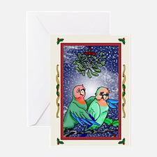 Christmas Bird3 Card Greeting Cards