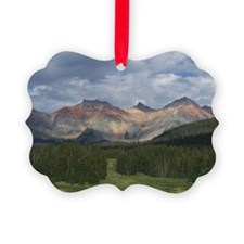 Colorado Mountains Ornament