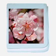 Cute Almond blossom baby blanket