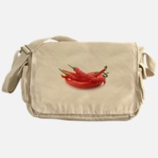 red hot chili peppers Messenger Bag