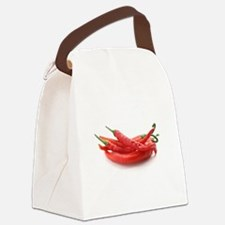 red hot chili peppers Canvas Lunch Bag