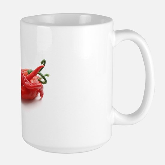 red hot chili peppers Large Mug