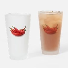 red hot chili peppers Drinking Glass