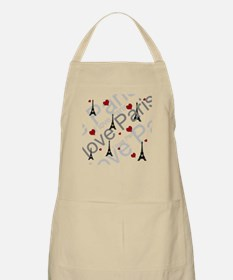 Trendy I LOVE PARIS Apron