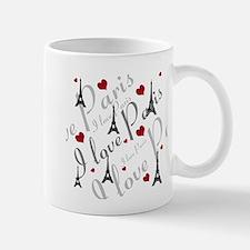 Trendy I LOVE PARIS Mug