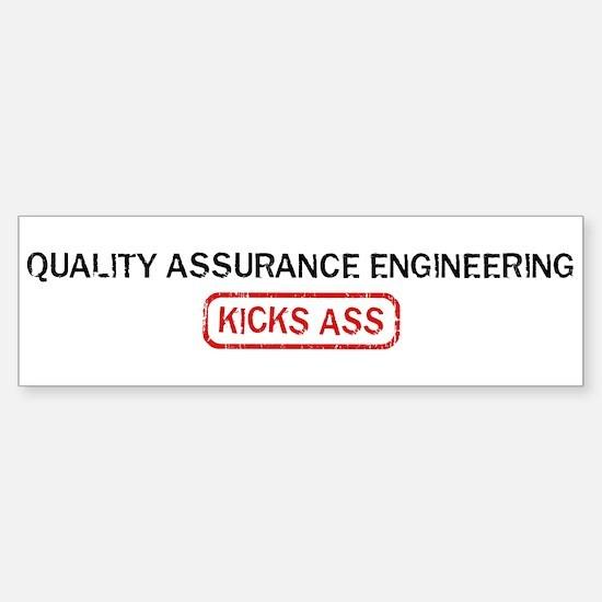 QUALITY ASSURANCE ENGINEERING Bumper Bumper Bumper Sticker