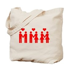 I Support Gay Marriage Equality Tote Bag