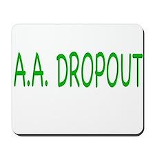 A.A. Dropout Mousepad