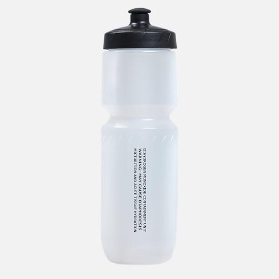 Dihydrogen Monoxide Containment Sports Bottle