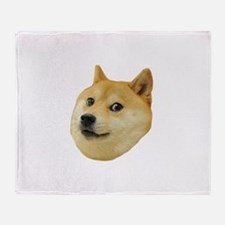 Doge Throw Blanket