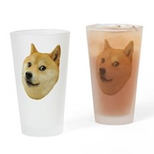 Doge Drinking Glass