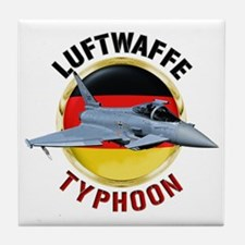 Luftwaffe Typhoon Tile Coaster