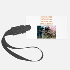paintball Luggage Tag
