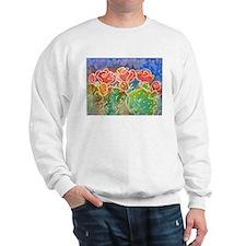 Colorful cactus, southwest art Sweatshirt