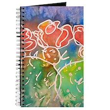 Colorful cactus, southwest art Journal