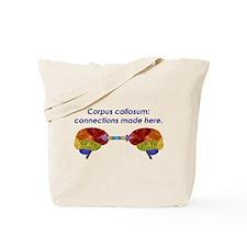 Corpus Callosum Tote Bag