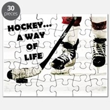 Hockey A Way Of Life Puzzle