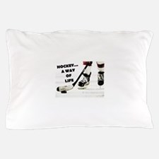 Hockey A Way Of Life Pillow Case