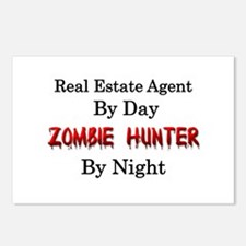 Real Estate Agent/Zombie Postcards (Package of 8)