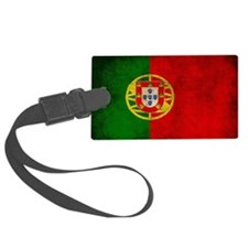 Portugal flag Luggage Tag