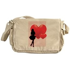 Romance Girl Messenger Bag