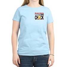 Messed With Wrong Chick 1 AA T-Shirt
