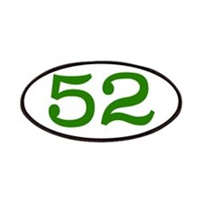 GREEN #52 Patches