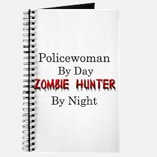 Policewoman/Zombie Hunter Journal
