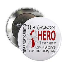 "Bravest Hero I Knew Aplastic Anemia 2.25"" Button"
