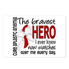 Bravest Hero I Knew Aplas Postcards (Package of 8)