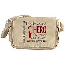 Bravest Hero I Knew Aplastic Anemia Messenger Bag