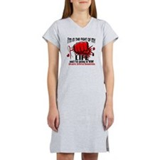 Fight of My Life 2 Aplastic Ane Women's Nightshirt