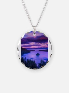 EMERALD BAY lake tahoe Necklace