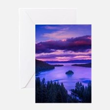 EMERALD BAY lake tahoe Greeting Cards