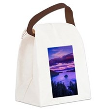EMERALD BAY lake tahoe Canvas Lunch Bag