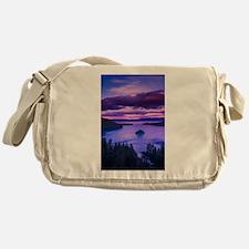 EMERALD BAY lake tahoe Messenger Bag