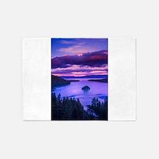 EMERALD BAY lake tahoe 5'x7'Area Rug