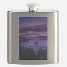 EMERALD BAY lake tahoe Flask