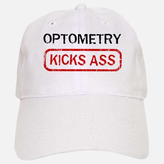 OPTOMETRY kicks ass Baseball Baseball Cap