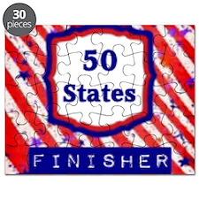50 States Finisher Puzzle