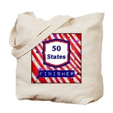 50 States Finisher Tote Bag