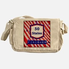 50 States Finisher Messenger Bag