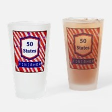 50 States Finisher Drinking Glass