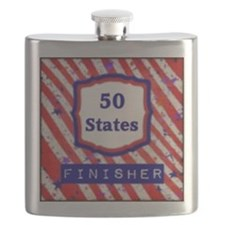 50 States Finisher Flask